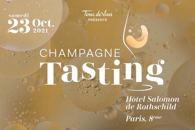 Paris, Hôtel Salomon de Rothschild : 4e édition de Champagne Tasting. 23 octobre 2021