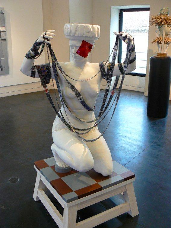 """""""Un plus un égale un ?"""". Exposition à l'Espace d'Art François-Auguste Ducros à Grignan jusqu'au 5 Janvier 2014"""