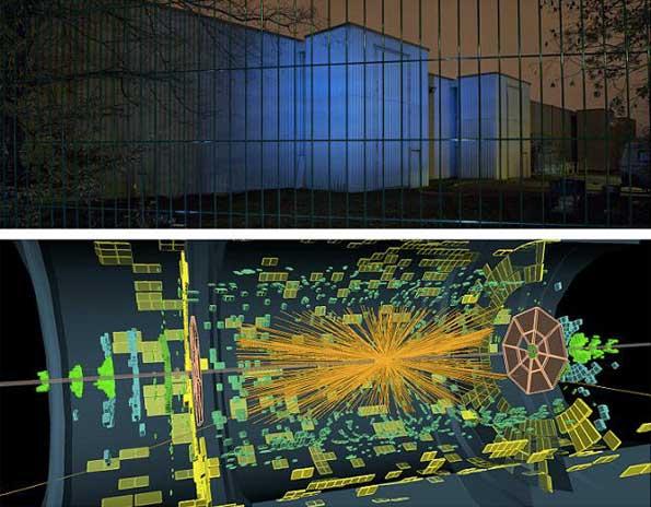 Meyrin suisse, 1h03'20'' 23 novembre 2010 diptyque 200 x 160 tirage jet d'encre papier photo brillant sur dibond