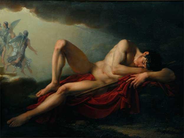 Jacques Réattu, La vision de Jacob, 1792