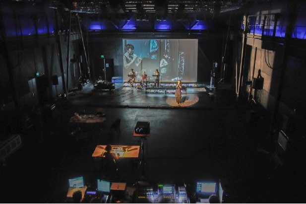 L'ATELIER, Espace d'expérimentation et de finalisation de spectacles pour les structures régionales à Bouc-Bel-Air