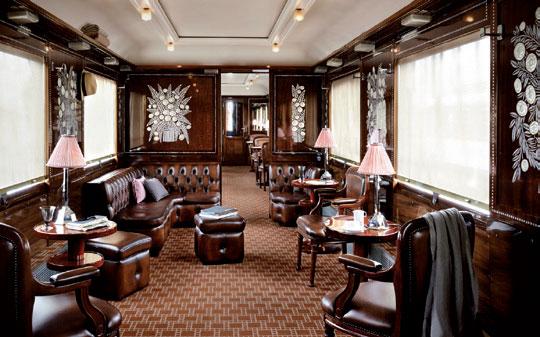 Verrerie Lalique pour l'Orient Express. Elles servent de décor à la voiture Flèche d'Or.