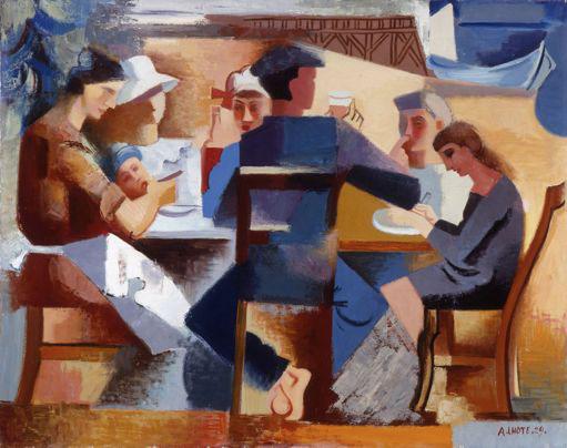 André Lhote Le déjeuner du marin, 1929 Huile sur toile, 72 x 91 cm Collection Fondation Regards de Provence © Adagp, Paris 2013