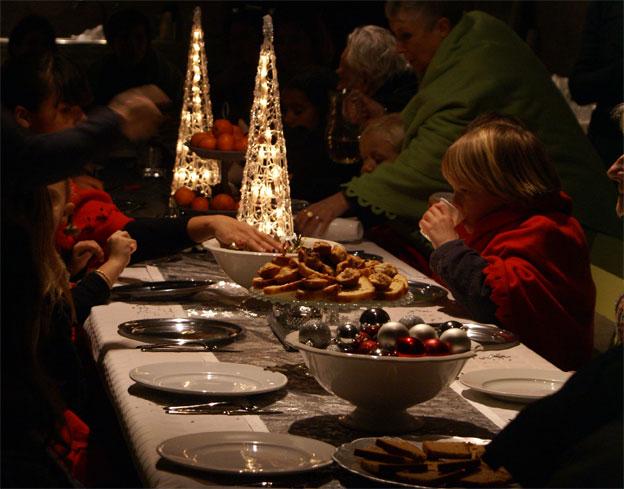 Une table bien dressée à Suze-la-Rousse