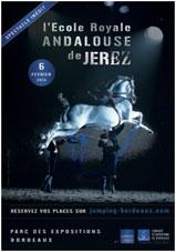 L'Ecole Royale Andalouse de Jerez à Bordeaux  le jeudi 6 février 2014 au Parc des Expositions de Bordeaux