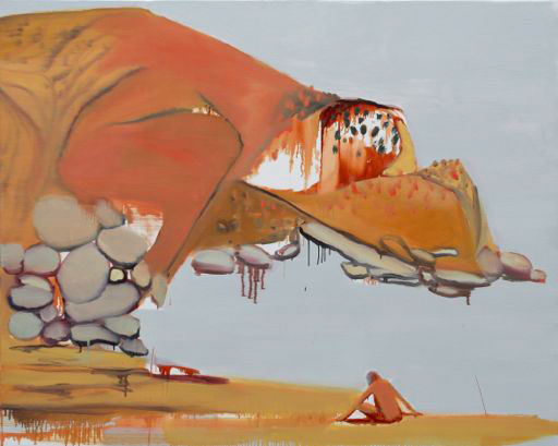 Isabel Duperray, Little boy I, 2006. Huile sur toile, 130 x 162 cm © Illés Sarkantyu