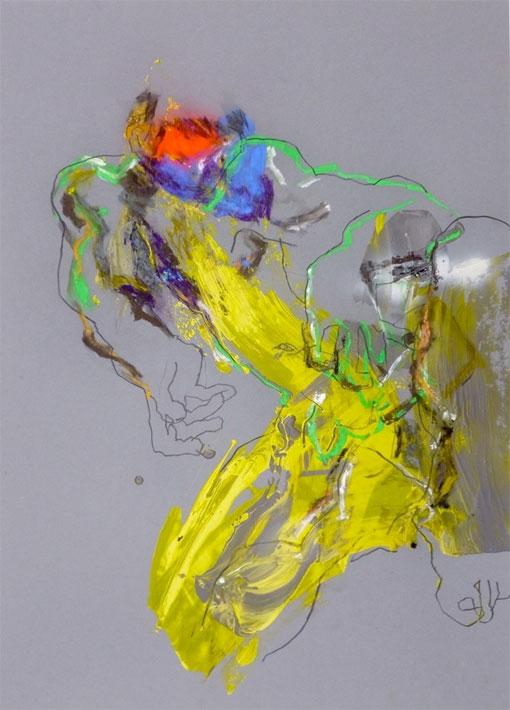 """Exposition """" INSIDE OUT """" à la Galerie Claire Corcia, Paris, du 6 février au 19 mars 2014"""