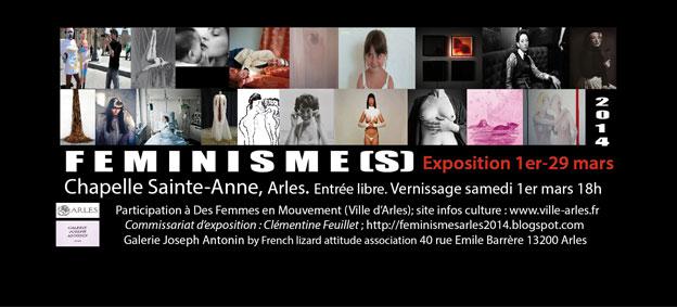 Exposition Féminisme(s), église Sainte-Anne, Arles, du 1er au 29 Mars 2014