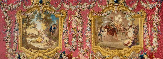 Histoire de Don Quichotte le Chevillard, d'après Charles-Antoine Coypel (1694-1752), Tapisserie de la manufacture des Gobelins, 1773, Mobilier national © Isabelle Bideau