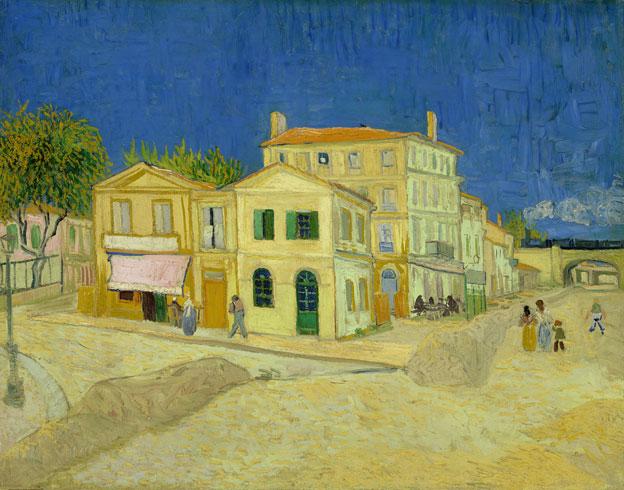 Vincent van Gogh, La Maison jaune (La rue), 1888. Huile sur toile, 72 x 91,5 cm. Van Gogh Museum, Amsterdam (Vincent van Gogh Foundation)