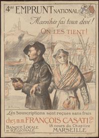 La faute au Midi. Soldats héroïques et diffamés, exposition aux Archives départementales des Bouches-du-Rhône, Aix-en-Provence,du 24 mars au 5 juillet 2014