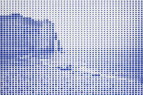 Xavier Veilhan, Paysage Fantôme n°5, 2003, Collection Frac Franche-Comté © Veilhan / Adagp, Paris © Pierre Guenat