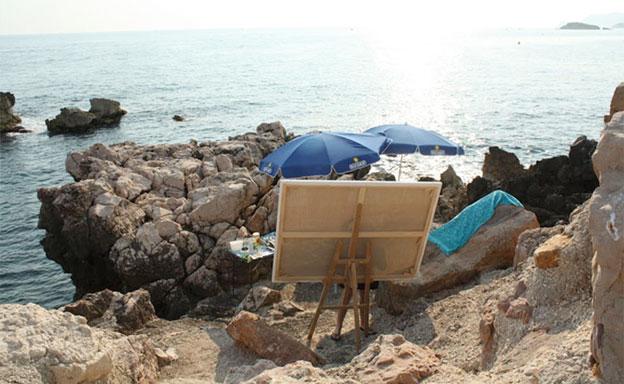 L'île de Bendor, l'île des arts