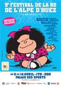 9e édition du Festival de la BD à l'Alpe d'Huez : Mafalda fête ses 50 ans ! du 11 au 14 avril 2014
