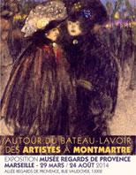 Autour du Bateau-Lavoir (1892-1930). De Montmartre à la Méditerranée, au Musée Regards de Provence, Marseille, du 29 mars au 24 août 2014. Par Philippe Oualid