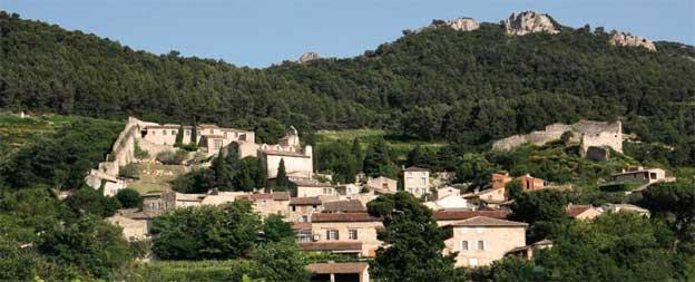 Gigondas, lieu d'art et de vignes