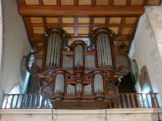 Orgue de la Collégiale de Tournon