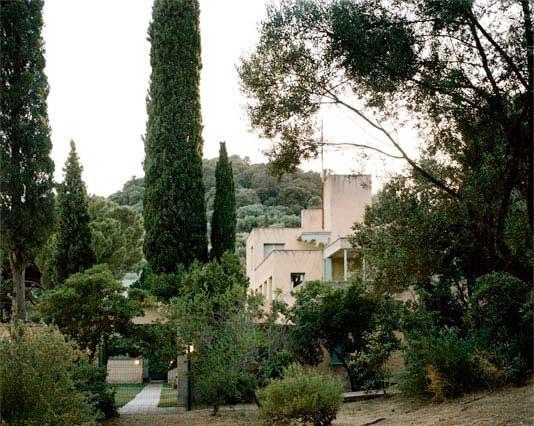 Villa Noailles vue des jardins © Cyrille Weiner, 2009