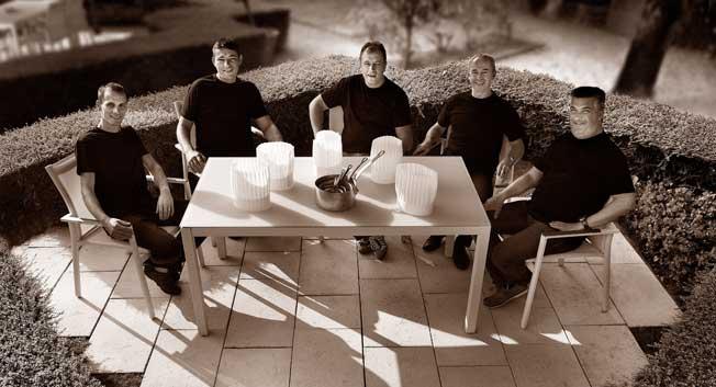 l agora des chefs au jardin de cyb le pendant le festival jazz vienne 2014. Black Bedroom Furniture Sets. Home Design Ideas