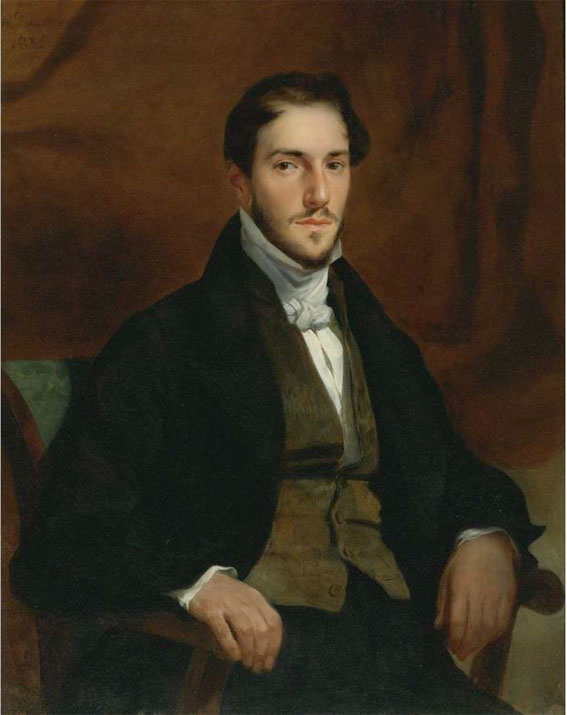 E. Delacroix - Portrait de Félix Guillemardet - Coll privée, USA - Photograph Courtesy of Sotheby's, Inc. © 2010