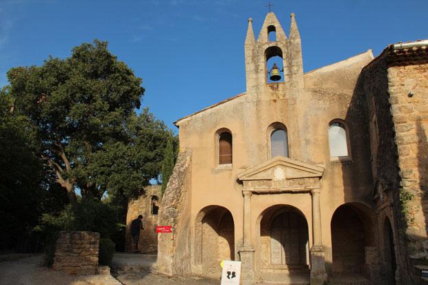Eglise et couvent des Minimes à Pourrières © Pierre Aimar