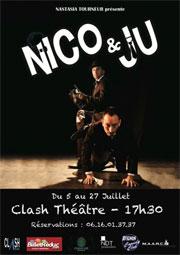 Nico & Ju. au Clash Théâtre, Avignon Off, du 5 au 27 Juillet 2014 à 17h30