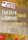 """""""En avoir... ou pas"""", Théâtre du Temps Pluriel, Théâtre du Balcon, Avignon Off, du 5 au 27 juillet 2014"""