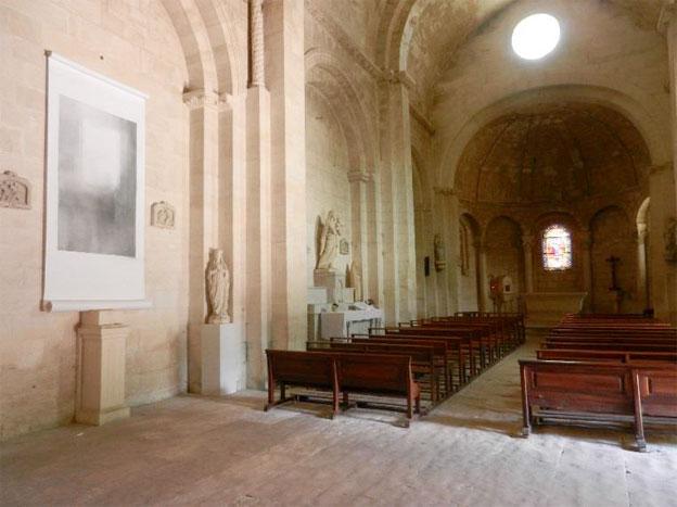 Bruno Albizzati expose au Centre d'Art Contemporain de St-Restitut (Drôme), juillet 2014