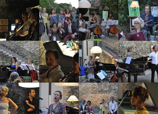 Les Soirées musicales de Grignan du 20 au 24 août 2014