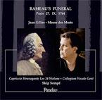 Les funérailles de Rameau mises en musique par Jean Gilles, par Christian Colombeau