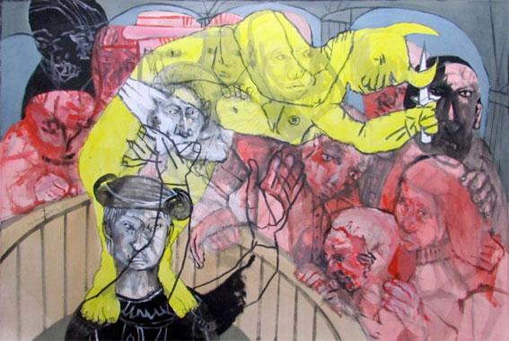 """Exposition """" Toros """" : Sergio Moscona à la Galerie Claire Corcia, Paris, du 9 octobre au 19 décembre 2014"""