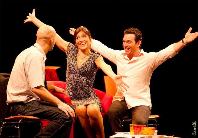 A vies contraires. Une comédie de Julien Roullé-Neuville. Ciné-théâtre de Tournon (07), le 10 octobre 2014