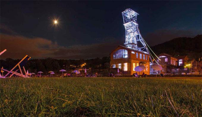 Ouverture du nouveau mus e de la mine de saint etienne - Luminaire st etienne ...