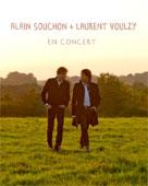 Alain Souchon & Laurent Voulzy en concert à la Park&Suites Arena, Montpellier, le jeudi 5 novembre 2015
