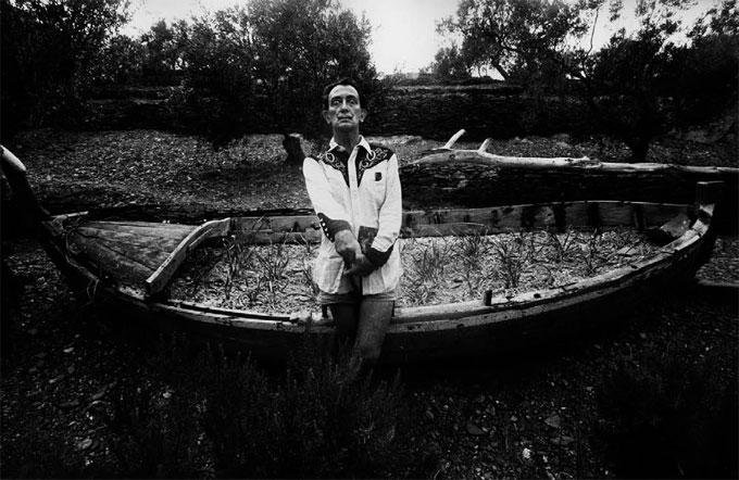 Marc RIBOUD, DALI à Cadaquès, 1963
