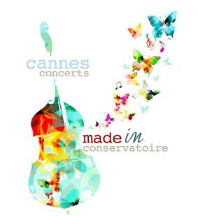 Concerts Made in Conservatoire, saison 2014-2015 du dimanche 16 novembre 2014 au dimanche 21 juin 2015 à Cannes