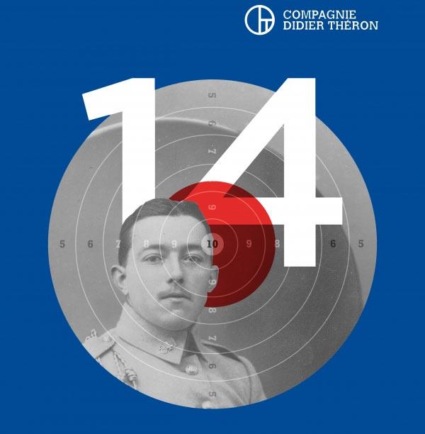 Création mondiale de « 14 » par la cie Didier Théron les 6 et 7 novembre 2014 au théâtre de l'Archipel de Perpignan
