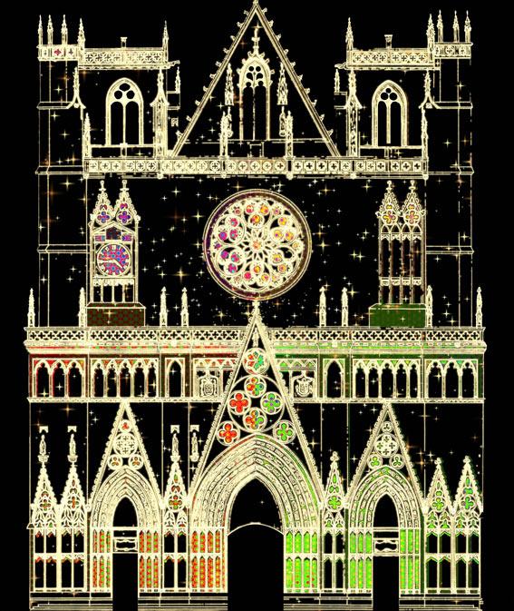 Cathédrale St-Jean © Ville de Lyon