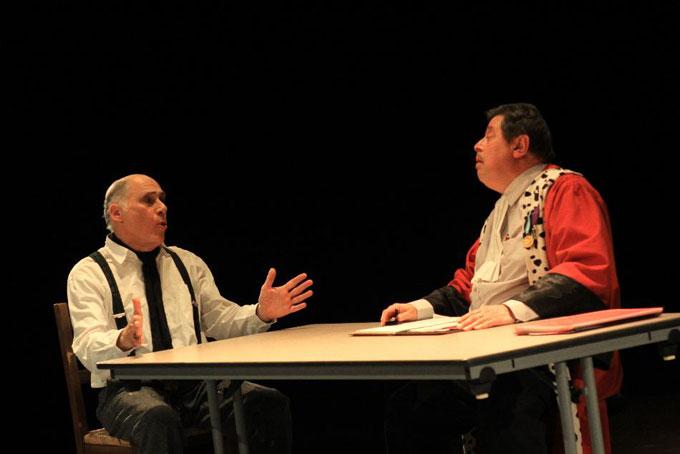 Théâtre, « J'ai tué Maurice Thorez » de Gilles Ascaride, Travaillan (84), le 5 décembre 2014