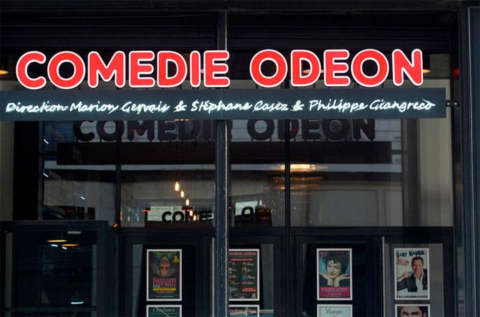 Programmation Comédie Odéon, Lyon, de décembre 2014 à avril 2015