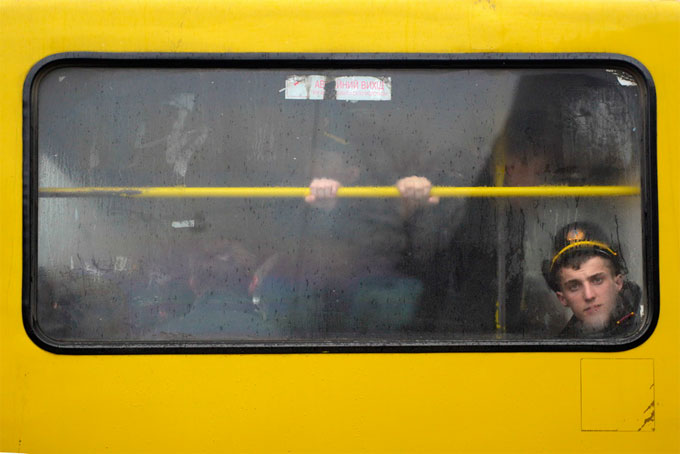 Trams & Bus 9, Lviv © Dolph Kessler courtesy galerie Sit Down