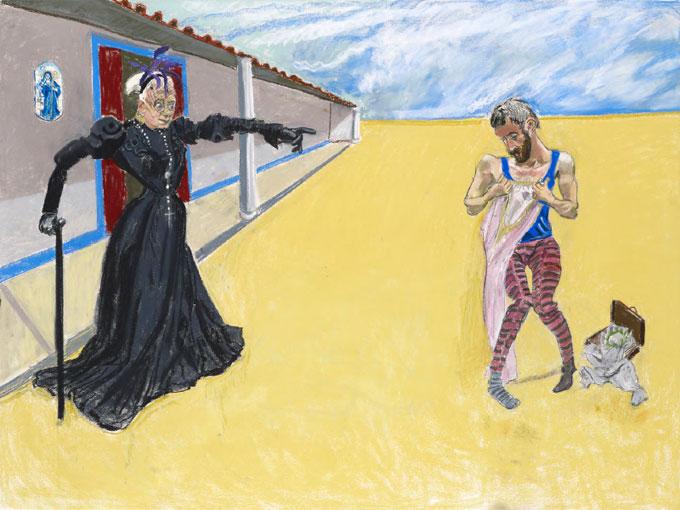 Exposition Paula Rego à la Galerie Sophie Scheidecker, Paris, du 29 janvier au 28 février 2014