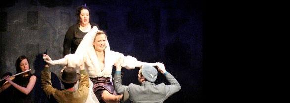 Yaacobi et Leidental, Théâtre musical en 30 tableaux et 12 chansons, du 15 au 30 janvier au Théâtre des Clochards Célestes, Lyon