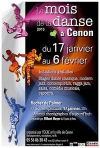 Le mois de la danse du 17 janvier au 6 février 2015 à Cenon (33)
