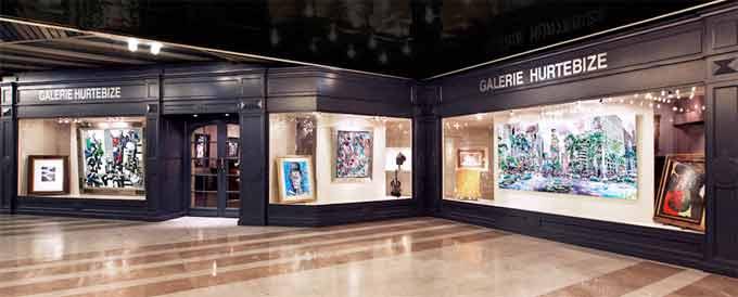 Galerie Hurtebize, Gray d'Albion à Cannes
