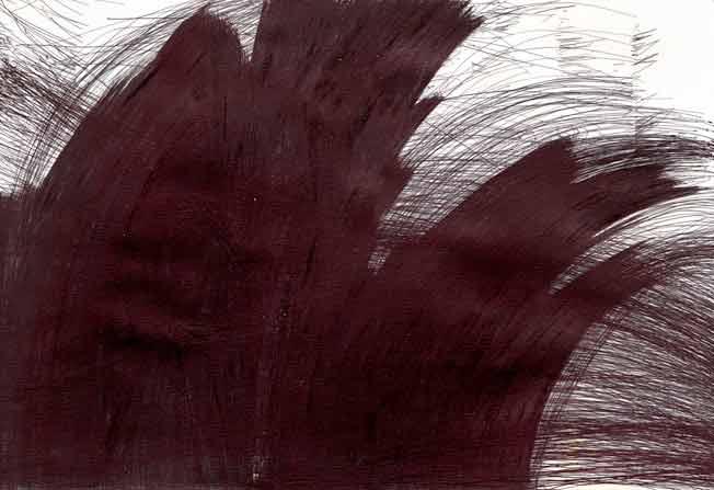 sans titre, 2014. stylo à bille sur papier, 38.4 x 56.1 cm