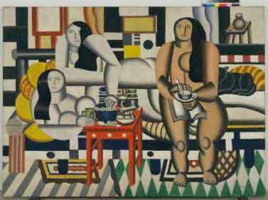 Fernand Léger Three Women (Le Grand Déjeuner), 1921 Huile sur toile 6' 1/4' x 8' 3' (183.5 x 251.5 cm). New York, Museum of Modern Art (MoMA), Mrs. Simon Guggenheim Fund. 189.1942