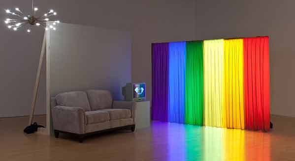 William Leavitt, Set for Spectral Analysis, 1977-2010. Courtesy de l'artiste et de la galerie Greene Naftali, New York © Brian Forrest
