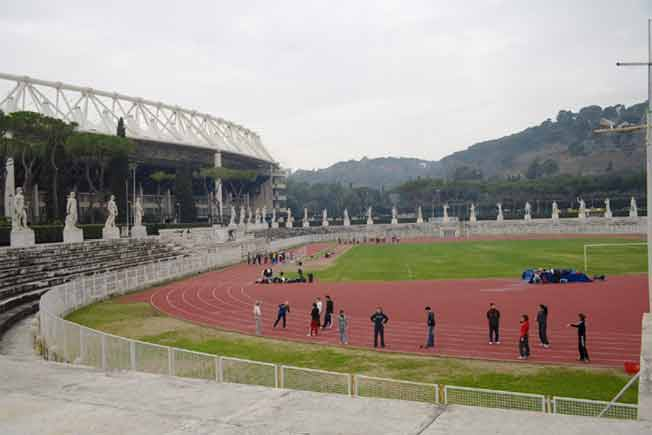 Espace de représentation 20 (Stade Foro Italico)