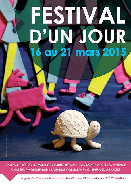 Festival d'un Jour, 21e édition du 16 au 21 mars 2015 à Valence et région